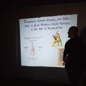 First of several lectures on reading medieval fight manuals