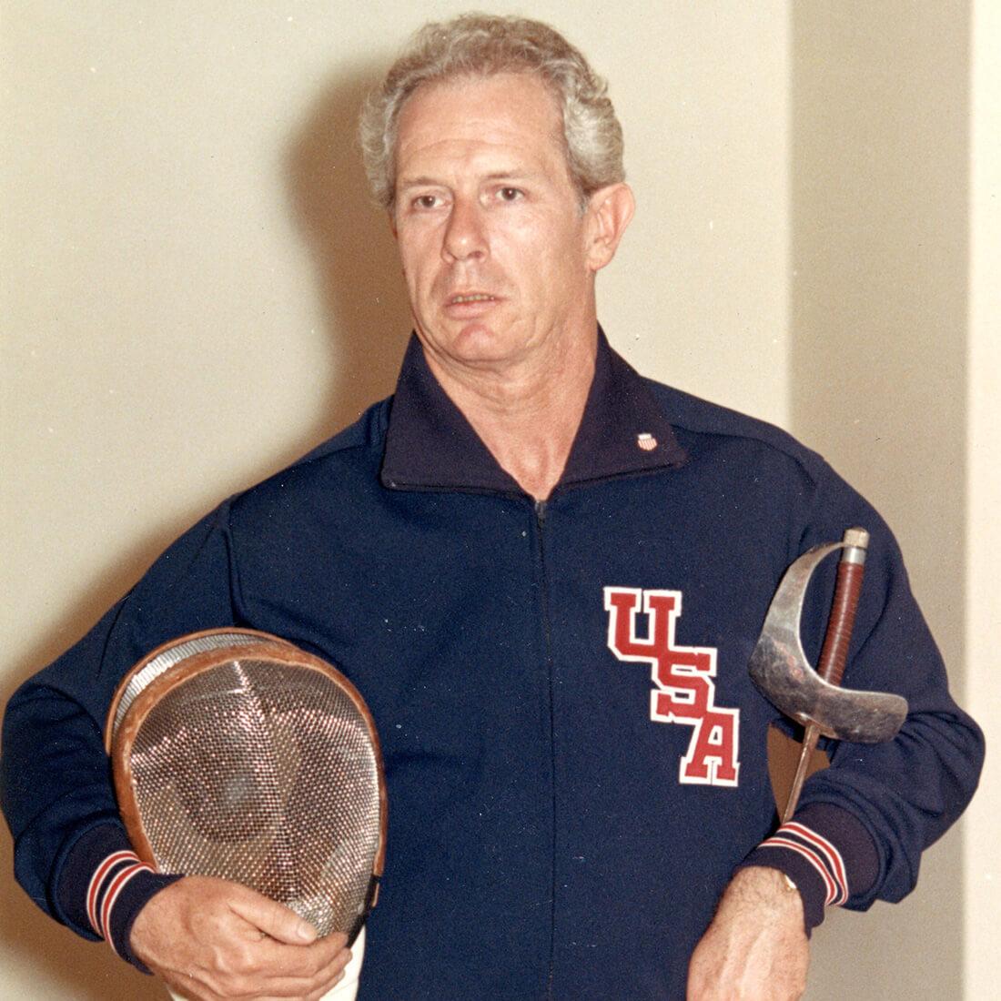fencer-delmar-calvert from west coast fencing archive