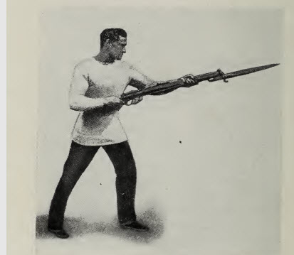 Bayonet Training for British Forces