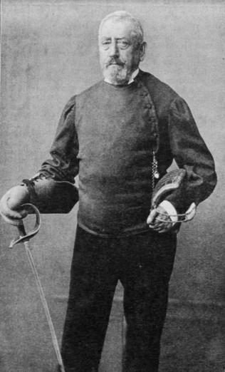 József Keresztessy, around 1892